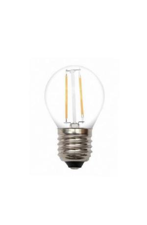 LED λαμπτήρας G45 2W Θερμό E27 Filament