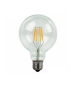 LED λαμπτήρας G95 E27 4W Θερμό Filament