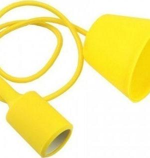 Κρεμαστό φωτιστικό οροφής E27 Κίτρινο