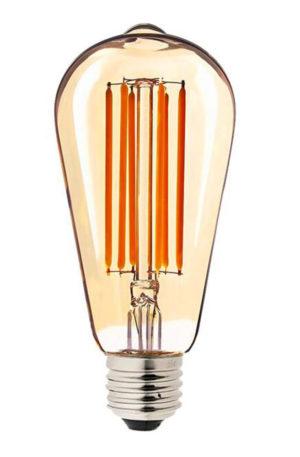 Λάμπα LED Filament Αβοκάντο ST64