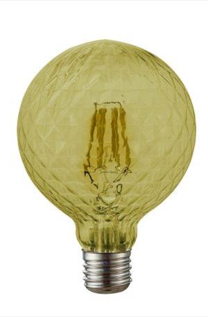 Λάμπα LED Filament Κεχριμπάρι Πεύκο