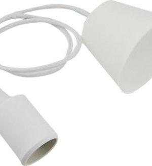 Κρεμαστό φωτιστικό οροφής E27 Λευκό
