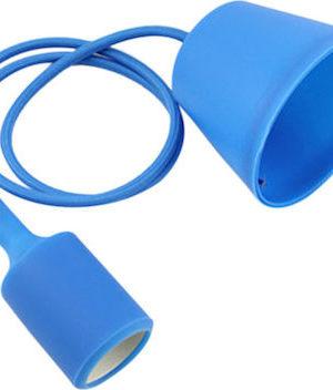 Κρεμαστό φωτιστικό οροφής E27 Μπλε